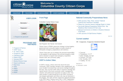 Columbia County Citizen Corps